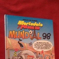 Tebeos: MORTADELO Y FILEMON - MUNDIAL 98 - MAGOS DEL HUMOR 74 - IBAÑEZ - CARTONE. Lote 153529086