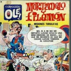 Tebeos: OLE Nº 144 MORTADELO Y FILEMON - INCLUYE LA HISTORIETA LA CAZA DEL CACO - BRUGUERA 1977, 1ª EDICION. Lote 153594498
