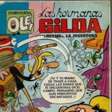 Tebeos: OLE Nº 52 - LAS HERMANAS GILDA, DE MANUEL VAZQUEZ - BRUGUERA 1972, 1ª EDICION, NUMERO EN LOMO. Lote 153595446