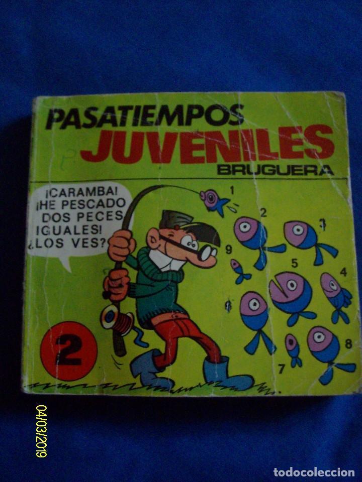 PASATIEMPOS JUVENILES BRUGUERA Nº 2 MORTADELO (Tebeos y Comics - Bruguera - Mortadelo)