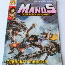 Tebeos: COMIC MANOS, GUERRERO MALDITO. NUMERO 19. TORRENTE MALDITO. Lote 153655058