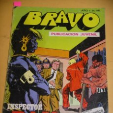 Tebeos: BRAVO Nº 68. INSPECTOR DAN 34, ED. BRUGUERA, AÑO 1976, ERCOM B8. Lote 153720362