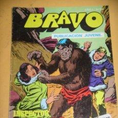 Tebeos: BRAVO Nº 64. INSPECTOR DAN 32, ED. BRUGUERA, AÑO 1976, ERCOM B8. Lote 153720770
