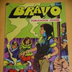 Tebeos: BRAVO Nº 62. INSPECTOR DAN 31, ED. BRUGUERA, AÑO 1976, ERCOM B8. Lote 153721038