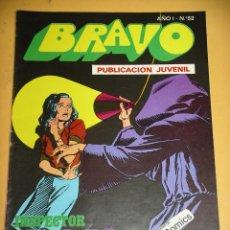 Tebeos: BRAVO Nº 52. INSPECTOR DAN 26, ED. BRUGUERA, AÑO 1976, ERCOM B8. Lote 153721890