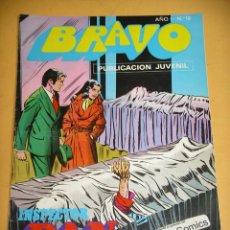 Tebeos: BRAVO Nº 12. INSPECTOR DAN 6, ED. BRUGUERA, AÑO 1976, ERCOM B8. Lote 153725370