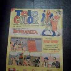 Tebeos: TELE COLOR Nº 220 CON AVENTURA EN EL FONDO DEL MAR DE VICTOR MORA. Lote 153732950