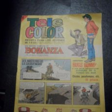 Tebeos: TELE COLOR Nº 223 CON AVENTURA EN EL FONDO DEL MAR DE VICTOR MORA Y ESCANDELL . Lote 153733190