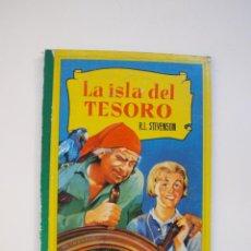 Tebeos: LA ISLA DEL TESORO - R.L. STEVENSON - COLECCIÓN CORINTO - BRUGUERA 3ª EDICIÓN 1962. Lote 153807106