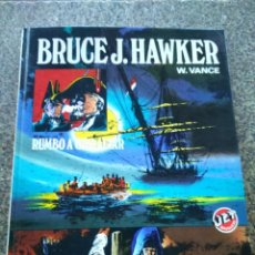 Tebeos: RUMBO A GIBRALTAR -- BRUCE J. HAWKER -- BRUGUERA 1983 -- . Lote 153849182