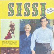 Tebeos: SISSI Nº106 (HOPE LANGE, DON MURRAY, JAMES STEWART, NADAL, ENRIQUE MONTSE, SALÓ, RICARDO ACEDO... . Lote 154029454