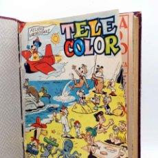 Tebeos: TELE COLOR 50 A 100 + ALMANAQUE + ESPECIAL (VVAA) BRUGUERA, 1963. Lote 154160076