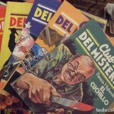 Tebeos: CLUB DEL MISTERIO DEL 1 AL 5 - BRUGUERA 1981 - PERFECTOS. Lote 154170614