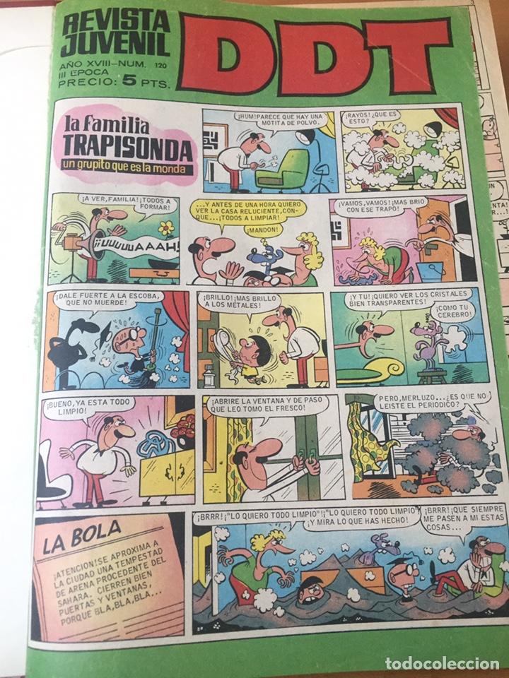 Tebeos: Colección DDT encuadernados años 70 - Foto 6 - 154202221