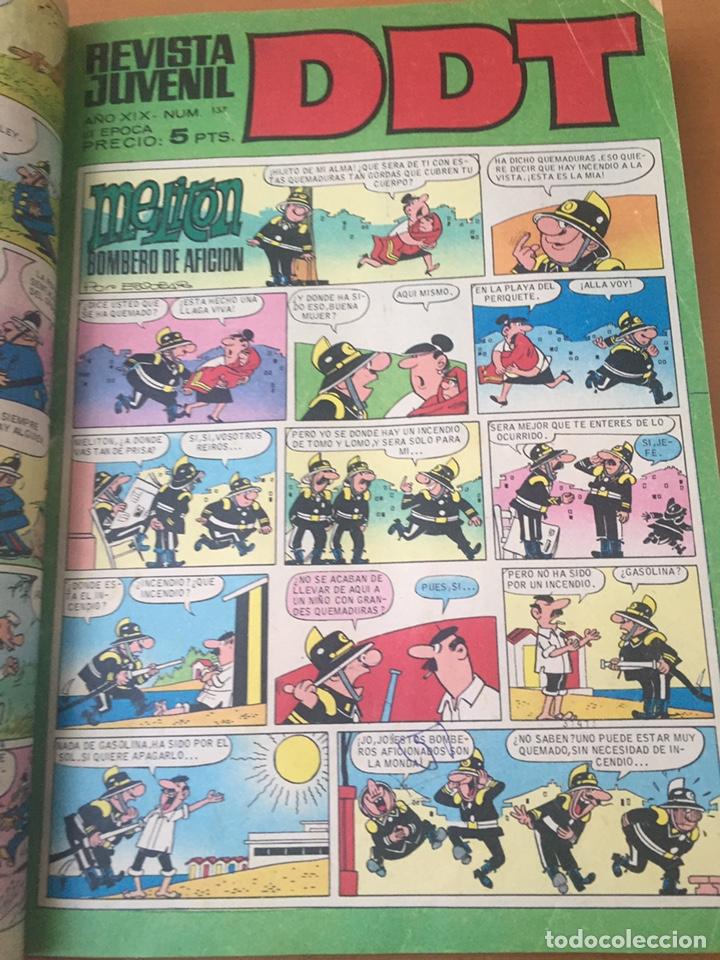 Tebeos: Colección DDT encuadernados años 70 - Foto 11 - 154202221