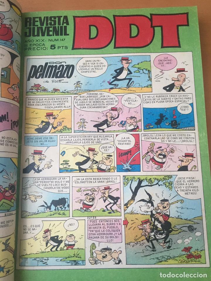 Tebeos: Colección DDT encuadernados años 70 - Foto 14 - 154202221