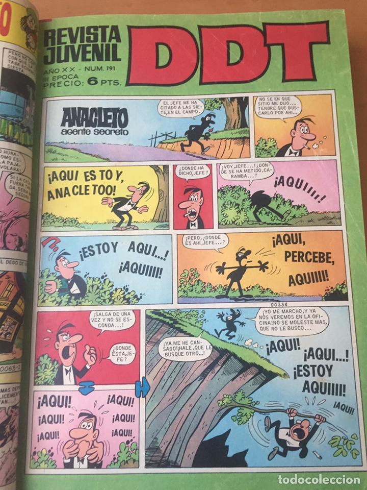 Tebeos: Colección DDT encuadernados años 70 - Foto 36 - 154202221