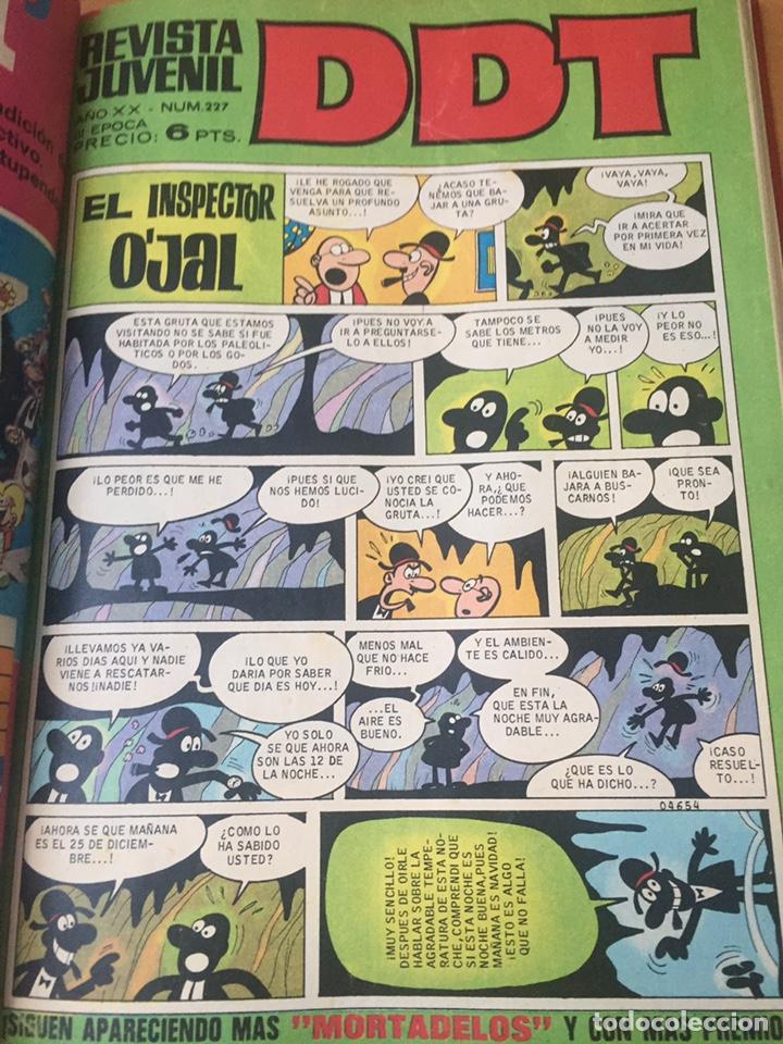 Tebeos: Colección DDT encuadernados años 70 - Foto 51 - 154202221
