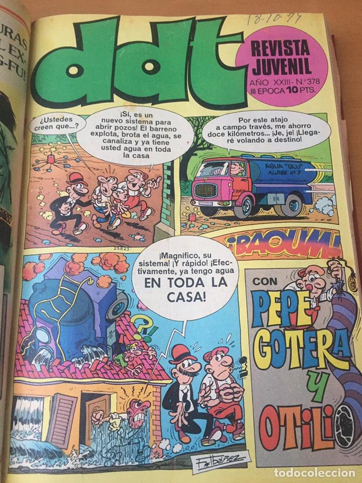 Tebeos: Colección DDT encuadernados años 70 - Foto 69 - 154202221