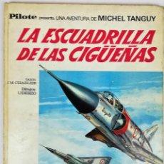 Tebeos: LA ESCUADRILLA DE LAS CIGÜEÑAS. J.M. CHARLIER. EDITORIAL BRUGUERA, S.A. BARCELONA 1968. Lote 154241678