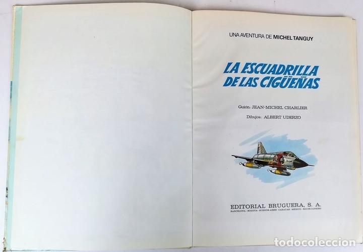 Tebeos: LA ESCUADRILLA DE LAS CIGÜEÑAS. J.M. CHARLIER. EDITORIAL BRUGUERA, S.A. BARCELONA 1968 - Foto 3 - 154241678