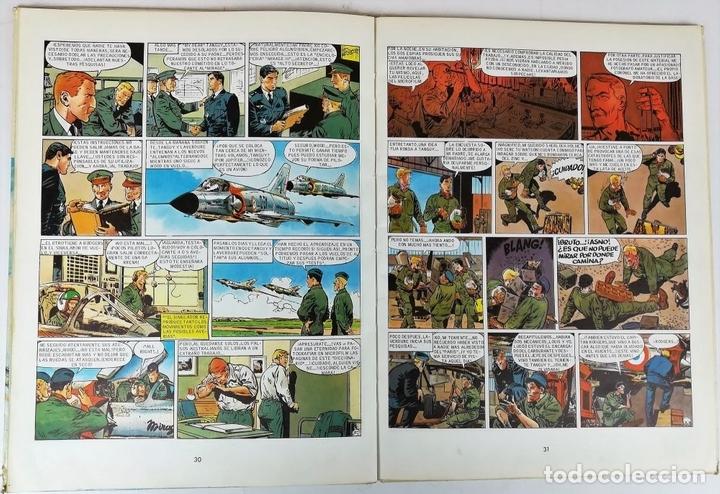 Tebeos: LA ESCUADRILLA DE LAS CIGÜEÑAS. J.M. CHARLIER. EDITORIAL BRUGUERA, S.A. BARCELONA 1968 - Foto 4 - 154241678