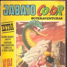 Tebeos: JABATO COLOR SUPERAVENTURAS EXTRA LA ISLA DE RAA Nº 12 TERCERA ÉPOCA EDITORIAL BRUGUERA 4-09-1978. Lote 154295566
