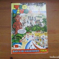 Tebeos: TIO VIVO. EXTRA DE VACACIONES 1968. BRUGUERA. Lote 154353990