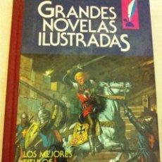 Tebeos: JOYAS LITERARIAS-GRANDES NOVELAS ILUSTRADAS -Nº. 8-1ª EDICIÓN - 1985. Lote 154426198
