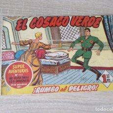 Tebeos: EL COSACO VERDE Nº 11 * SUPER AVENTURAS Nº 312 *** BRUGUERA ORIGINAL. Lote 154512654