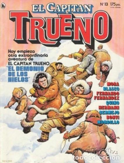EL CAPITÁN TRUENO-REVISTA JUVENIL- Nº 13 -ÚLTIMO COLEC-F. FERNÁNDEZ-J.BLASCO-L.BERMEJO1986-LEAN-3931 (Tebeos y Comics - Bruguera - Capitán Trueno)