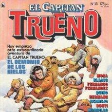 Tebeos: EL CAPITÁN TRUENO-REVISTA JUVENIL- Nº 13 -ÚLTIMO COLEC-F. FERNÁNDEZ-J.BLASCO-L.BERMEJO1986-LEAN-3931. Lote 222319203