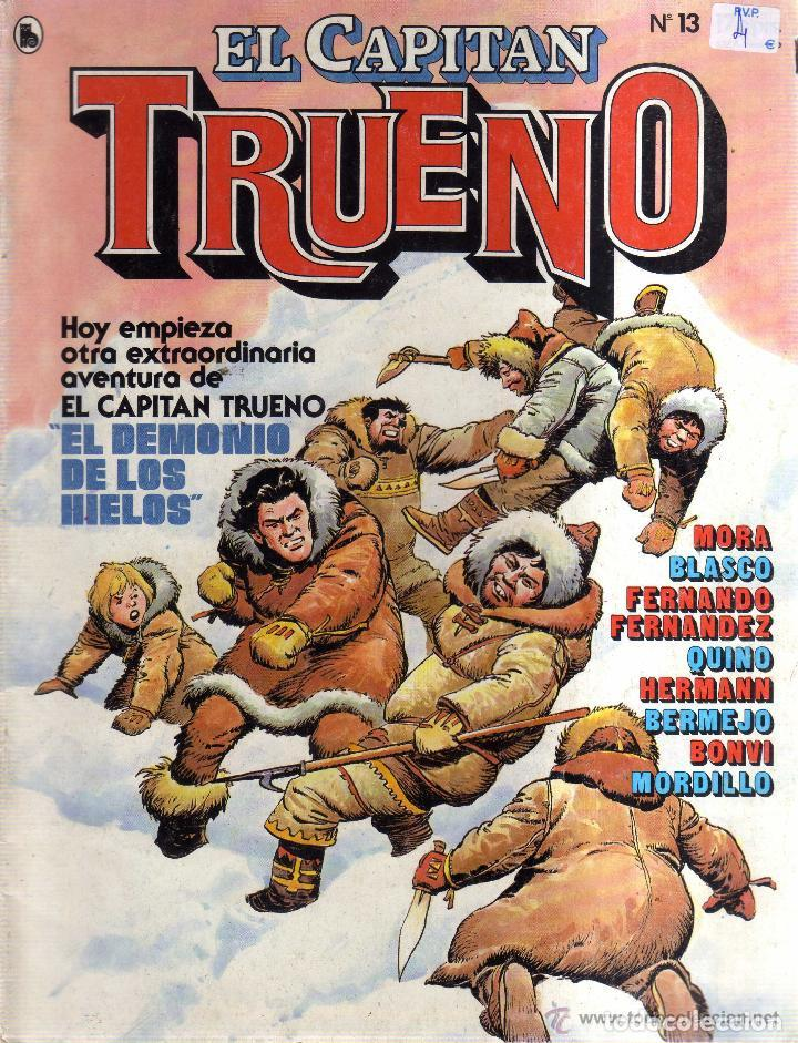 Tebeos: EL CAPITÁN TRUENO-REVISTA JUVENIL- Nº 13 -ÚLTIMO COLEC-F. FERNÁNDEZ-J.BLASCO-L.BERMEJO1986-LEAN-3931 - Foto 2 - 222319203