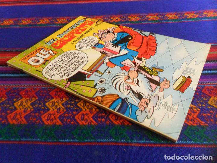 OLÉ Nº 46 EL DOCTOR CATAPLASMA. 1ª PRIMERA EDICIÓN CON Nº EN LOMO. BRUGUERA 1972. 40 PTS. MBE. RARO. (Tebeos y Comics - Bruguera - Ole)