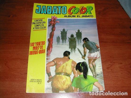 ALBUM JABATO EXTRA COLOR Nº 22 PRIMERA ÉPOCA (ORIGINAL 1971) ED. BRUGUERA. LOS FANTASMAS DE WONG-WAH (Tebeos y Comics - Bruguera - Jabato)