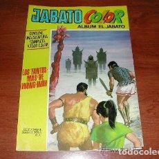Tebeos: ALBUM JABATO EXTRA COLOR Nº 22 PRIMERA ÉPOCA (ORIGINAL 1971) ED. BRUGUERA. LOS FANTASMAS DE WONG-WAH. Lote 154675882