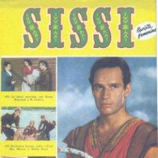 Tebeos: SISSI Nº132 (CHARLTON HESTON, HERMANAS SERRANO, IÑIGO, IRAOLA, JUAN LLORCA, NURIA TORÁN, CUEVAS) . Lote 154709082