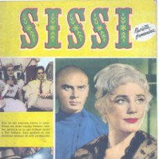 Tebeos: SISSI Nº135 (MARIA SCHELL, JEAN PAUL BELMONDO, IÑIGO, JUAN LLORCA, MARÍA BARRERA, ELSA MARTIN...) . Lote 154710030