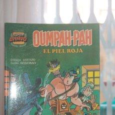 Tebeos: OUMPAH-PAH, EL PIEL ROJA. COL. SUPER BRAVO. BRUGUERA 1982. INF. 2 FOTOS.. Lote 154713646