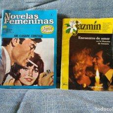 Tebeos: NOVELAS FEMENINAS. Nº 2 CORÍN TELLADO Y JAZMIN LOS MAS BELLOS ROMANCES DEL MUNDO. Lote 154827862