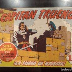 Tebeos: EL CAPITÁN TRUENO Nº 313 / 200 -LA FURIA DE KRIEGER- ORIGINAL, CREACIONES EDITORIALES 1960. Lote 154851590