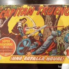 Tebeos: EL CAPITÁN TRUENO Nº 322 / 203 -UNA BATALLA NAVAL- ORIGINAL, CREACIONES EDITORIALES 1960. Lote 154851974