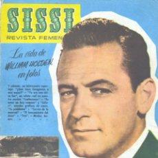 Tebeos: SISSI Nº174 (WILLIAM HOLDEN, IÑIGO, JULIO VIVAS, LOS CASTIGADORES, JUAN LLORCA, TORRES...). Lote 154853366