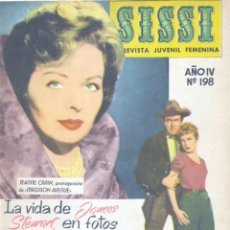 Tebeos: SISSI Nº198 (JAMES STEWART, MADISON AVENUE, IÑIGO, ANTONIO GUERRERO, M. ROCA, FURIA DE LOS BÁRBAROS.. Lote 154854274