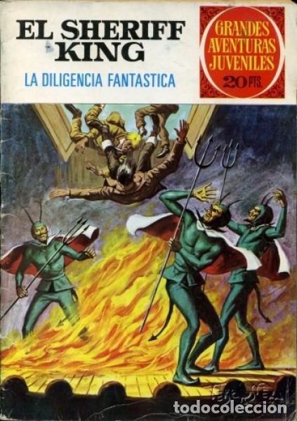 GRANDES AVENTURAS JUVENILES- Nº 64 -SHERIFF KING-V.TORREGROSA-1975-REGULAR-MUY DIFÍCIL-LEAN-0572 (Tebeos y Comics - Bruguera - Sheriff King)