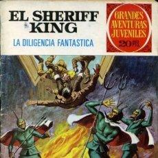 Tebeos: GRANDES AVENTURAS JUVENILES- Nº 64 -SHERIFF KING-V.TORREGROSA-1975-REGULAR-MUY DIFÍCIL-LEAN-0572. Lote 205809462