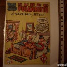 Tebeos: SUPER PULGARCITO - DE NAVIDAD Y REYES - NÚMERO 9 - ORIGINAL - BRUGUERA. Lote 155020566