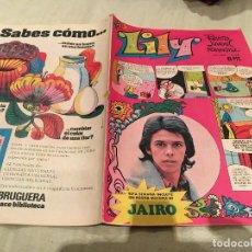 Tebeos: LILY Nº 641 CON POSTER DE JAIRO - BRUGUERA. Lote 155059926