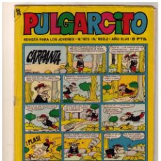 Tebeos: PULGARCITO Nº 1875 CON SHERIFF KING. Lote 155102994