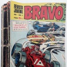 Tebeos: BRAVO, REVISTA JUVENIL AÑO I 1968 (20 EJEMPLARES) VER RELACIÓN. Lote 155179322